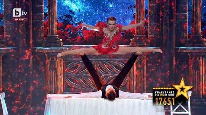 DElfina i Bartek Toxic Bulgarian Got Talent