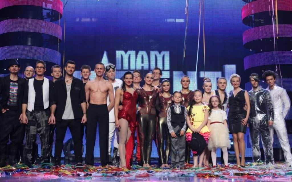 Finalisci Mam Talent 2012 Ania Filipowska Multivisual Pitzo i Polsky Delfina i Bartek Prokop Hołownia